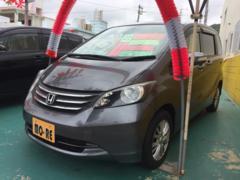 沖縄の中古車 ホンダ フリード 車両価格 65万円 リ済込 平成22年 8.2万K グレー