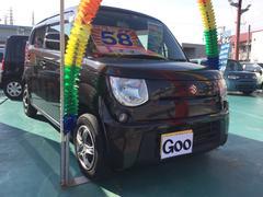 沖縄の中古車 スズキ MRワゴン 車両価格 58万円 リ済込 平成23年 7.6万K ブラック