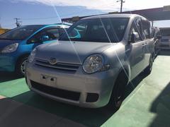 沖縄の中古車 トヨタ シエンタ 車両価格 39万円 リ済込 平成20年 9.7万K シルバー