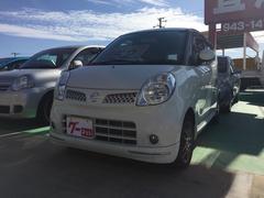 沖縄の中古車 日産 モコ 車両価格 52万円 リ済込 平成21年 5.2万K ホワイト