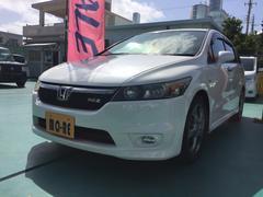 沖縄の中古車 ホンダ ストリーム 車両価格 51万円 リ済込 平成19年 9.4万K ホワイト