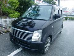 沖縄の中古車 スズキ ワゴンR 車両価格 28万円 リ済込 平成19年 11.6万K ジュエルパープルパールメタリック