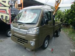 沖縄の中古車 ダイハツ ハイゼットトラック 車両価格 108万円 リ未 新車  グリーンM