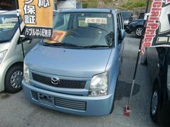 沖縄の中古車 マツダ AZワゴン 車両価格 34万円 リ済込 平成20年 7.1万K レイクブルーメタリック