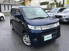 沖縄の中古車 スズキ ワゴンRスティングレー 車両価格 49万円 リ済別 平成21年 9.2万K ノクターンブルーパール