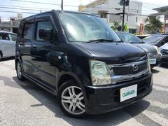 沖縄の中古車 マツダ AZワゴン 車両価格 39万円 リ済別 平成19年 10.5万K ブラック