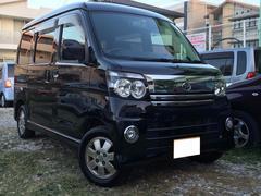 沖縄の中古車 ダイハツ アトレーワゴン 車両価格 58万円 リ済別 平成18年 9.6万K ブラック