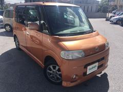 沖縄の中古車 ダイハツ タント 車両価格 24万円 リ済別 平成19年 10.8万K オレンジ