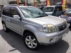 沖縄の中古車 日産 エクストレイル 車両価格 46万円 リ済別 平成18年 7.6万K シルバー