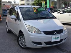 沖縄の中古車 三菱 コルト 車両価格 29万円 リ済込 平成19年 9.6万K パールホワイト