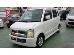 沖縄の中古車 スズキ ワゴンR 車両価格 19万円 リ済込 平成16年 12.1万K パールホワイト