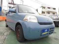 沖縄の中古車 ダイハツ エッセ 車両価格 15万円 リ済込 平成18年 13.0万K ライトブルー
