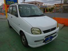 沖縄の中古車 スバル プレオ 車両価格 9万円 リ済込 平成17年 11.2万K ホワイト