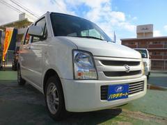 沖縄の中古車 スズキ ワゴンR 車両価格 24万円 リ済込 平成19年 12.3万K パ−ルホワイト