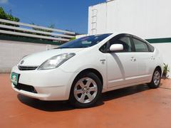 沖縄の中古車 トヨタ プリウス 車両価格 67万円 リ済込 平成20年 6.9万K パールホワイト