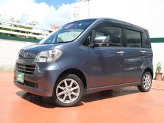 沖縄の中古車 ダイハツ タントエグゼ 車両価格 73万円 リ済込 平成23年 5.8万K グレーM