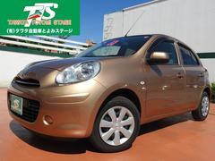 沖縄の中古車 日産 マーチ 車両価格 53万円 リ済込 平成23年 3.7万K ゴールドM