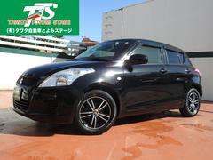 沖縄の中古車 スズキ スイフト 車両価格 67万円 リ済込 平成24年 6.0万K ブラック