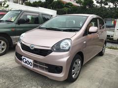 沖縄の中古車 ダイハツ ミライース 車両価格 85万円 リ済込 平成28年 0.4万K ピンク