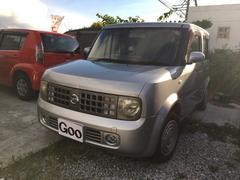 沖縄の中古車 日産 キューブ 車両価格 9万円 リ済込 平成16年 13.9万K シルバー