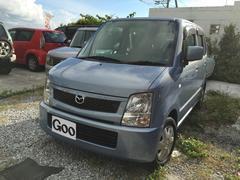 沖縄の中古車 マツダ AZワゴン 車両価格 29万円 リ済込 平成18年 5.2万K ライトブルー