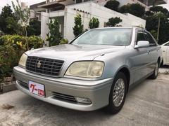 沖縄の中古車 トヨタ クラウン 車両価格 35万円 リ済込 平成13年 10.8万K シルバー