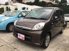沖縄の中古車 スバル ステラ 車両価格 39万円 リ済込 平成23年 3.6万K ブラウン
