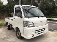 沖縄の中古車 ダイハツ ハイゼットトラック 車両価格 42万円 リ済込 平成18年 11.1万K ホワイト