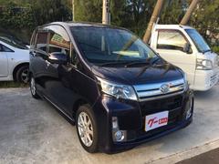 沖縄の中古車 ダイハツ ムーヴ 車両価格 83万円 リ済込 平成26年 2.2万K ブルーM