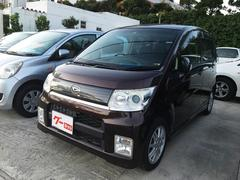沖縄の中古車 ダイハツ ムーヴ 車両価格 28万円 リ済込 平成21年 16.1万K パープル