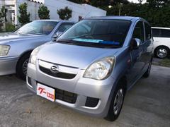 沖縄の中古車 ダイハツ ミラ 車両価格 31万円 リ済込 平成20年 12.3万K シルバー