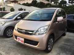 沖縄の中古車 ダイハツ ムーヴ 車両価格 37万円 リ済込 平成20年 10.1万K ピンク