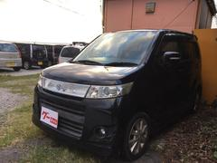 沖縄の中古車 スズキ ワゴンRスティングレー 車両価格 43万円 リ済込 平成22年 11.4万K ブラック