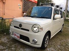 沖縄の中古車 ダイハツ ミラココア 車両価格 43万円 リ済込 平成22年 9.6万K パールホワイト
