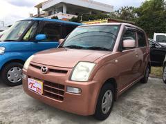 沖縄の中古車 マツダ キャロル 車両価格 13万円 リ済込 平成19年 14.7万K ピンク