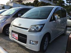 沖縄の中古車 ダイハツ ムーヴ 車両価格 44万円 リ済込 平成19年 9.9万K パールホワイト