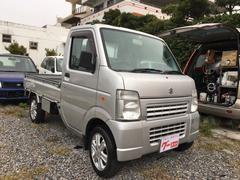 沖縄の中古車 スズキ キャリイトラック 車両価格 65万円 リ済込 平成23年 4.5万K シルバー