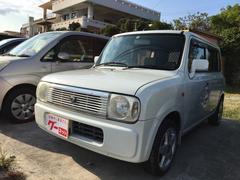 沖縄の中古車 スズキ アルトラパン 車両価格 17万円 リ済込 平成17年 14.0万K パールホワイト