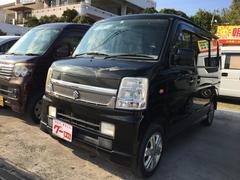 沖縄の中古車 スズキ エブリイワゴン 車両価格 35万円 リ済込 平成19年 17.5万K ブラック
