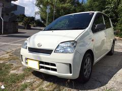 沖縄の中古車 ダイハツ ミラ 車両価格 14万円 リ済込 平成16年 14.3万K ホワイト