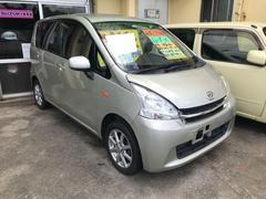 沖縄の中古車 ダイハツ ムーヴ 車両価格 44万円 リ済込 平成23年 8.9万K ライトゴールド