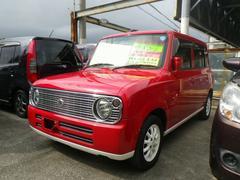 沖縄の中古車 スズキ アルトラパン 車両価格 29万円 リ済込 平成19年 6.3万K レッド