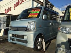 沖縄の中古車 スズキ エブリイワゴン 車両価格 45万円 リ済込 平成19後 10.0万K ブルー