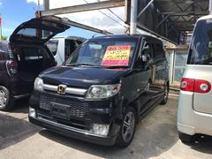 沖縄の中古車 ホンダ ゼスト 車両価格 34万円 リ済込 平成20年 8.0万K ブラック