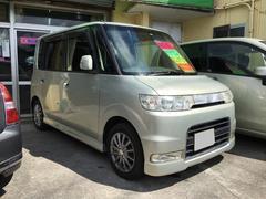 沖縄の中古車 ダイハツ タント 車両価格 34万円 リ済込 平成19年 7.6万K シャンパンゴールド