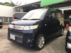 沖縄の中古車 スズキ ワゴンRスティングレー 車両価格 34万円 リ済込 平成21年 9.2万K ダークブルー