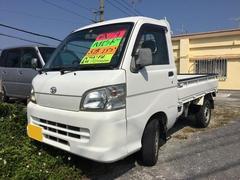 沖縄の中古車 ダイハツ ハイゼットトラック 車両価格 37万円 リ済込 平成17年 9.2万K ホワイト