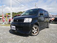 沖縄の中古車 三菱 eKワゴン 車両価格 27万円 リ済込 平成16年 11.2万K ブラックM