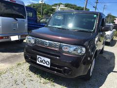 沖縄の中古車 日産 キューブ 車両価格 ASK リ済込 平成24年 7.3万K ビターショコラ