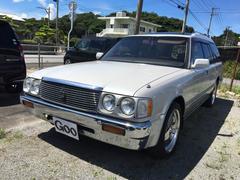 沖縄の中古車 トヨタ クラウンステーションワゴン 車両価格 ASK リ済込 平成6年 20.9万K ホワイト